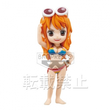 main photo of One Piece World Collectable Figure ~One Piece Film Z~ vol.1: Nami