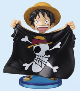 main photo of One Piece World Collectable Figure vol.9: Luffy