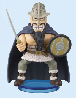 main photo of One Piece World Collectable Figure vol.9: Dorry