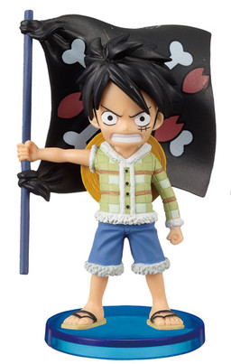 main photo of One Piece World Collectable Figure Vol.13: Monkey D. Luffy