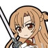 Pic-Lil! Sword Art Online Trading Strap Asuna Collection: Asuna Knights of the Blood ver.