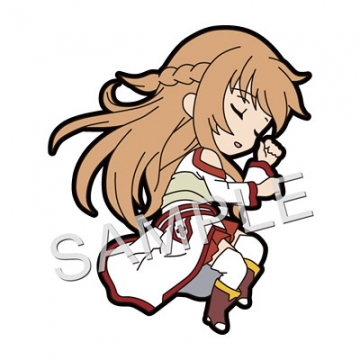 main photo of Pic-Lil! Sword Art Online Trading Strap Asuna Collection: Asuna Dozing ver.