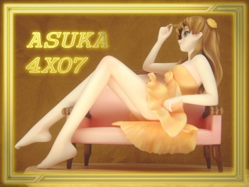 main photo of Asuka Langley Antique Sofa Ver.