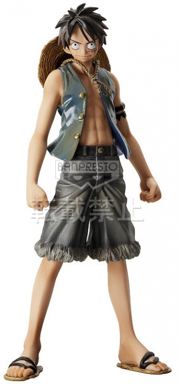 main photo of The Grandline Men DXF Figure Vol.5 Monkey D. Luffy Sabaody Archipelago Ver.