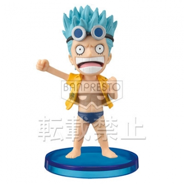 main photo of One Piece World Collectable Figure Vol.27: Franky