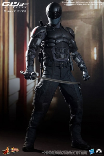 main photo of Movie Masterpiece Snake Eyes
