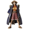 photo of The Grandline Men DXF Figure Vol.4 Monkey D. Luffy Blue Coat Ver.