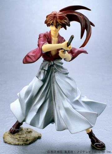 main photo of Story Image Figure Ruroni Kenshin Best Selection: Himura Kenshin