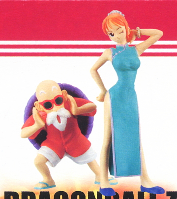 main photo of Dream Killed Dragon Ball X One Piece: Nami & Muten Roshi