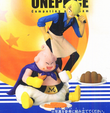 main photo of Dream Killed Dragon Ball X One Piece: Majin Buu & Sanji
