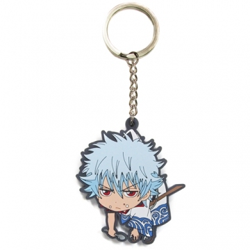 main photo of Gintama Tsumamare Key Rings: Sakata Gintoki