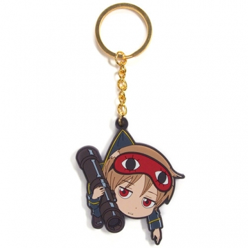 main photo of Gintama Tsumamare Key Rings: Okita Sougo