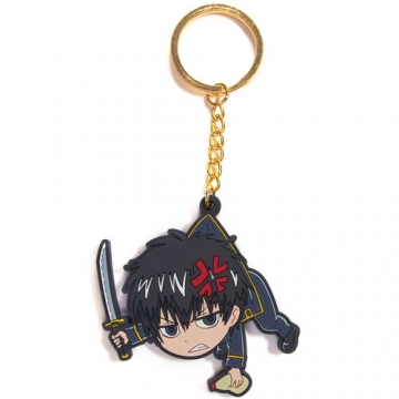 main photo of Gintama Tsumamare Key Rings: Hijikata Toshiro
