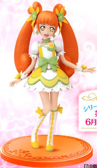 main photo of Precure DXF Figure: Cure Rosetta