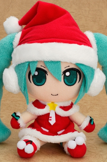 main photo of Nendoroid Plus Plushie: Hatsune Miku Santa Ver. (GSC Lottery Last Draw Prize)