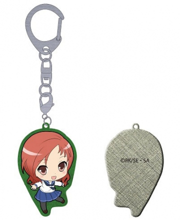 main photo of Saki Achiga Arc episode of side-A Puchikko Trading Metal Keychain: Takei Hisa