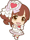 main photo of iDOLM@STER Cinderella Girls - Rubber Strap [Cute]: Igarashi Kyouko