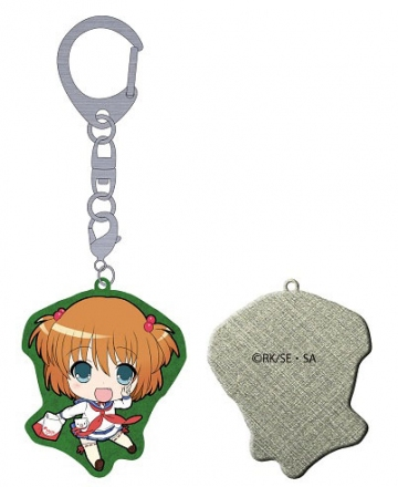 main photo of Saki Achiga Arc episode of side-A Puchikko Trading Metal Keychain: Kataoka Yuuki