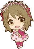 main photo of iDOLM@STER Cinderella Girls - Rubber Strap [Cute]: Mimura Kanako