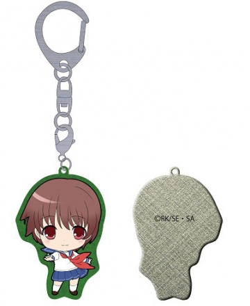 main photo of Saki Achiga Arc episode of side-A Puchikko Trading Metal Keychain: Akado Harue