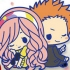 Uta no Prince-sama Rubber Strap Collection Shining All Stars CD: Tsukimiya Ringo & Hyuuga Ryuuya
