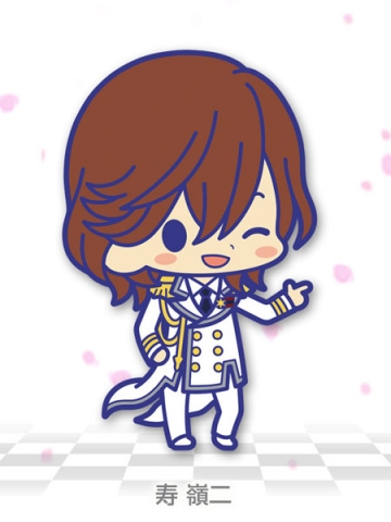 main photo of Uta no Prince-sama Rubber Strap Collection Shining All Stars CD: Kotobuki Reiji