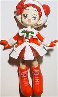 main photo of Ojamajo Doremi DOKKAAN! Christmas Keychain: Harukaze Doremi Santa Suit Ver.
