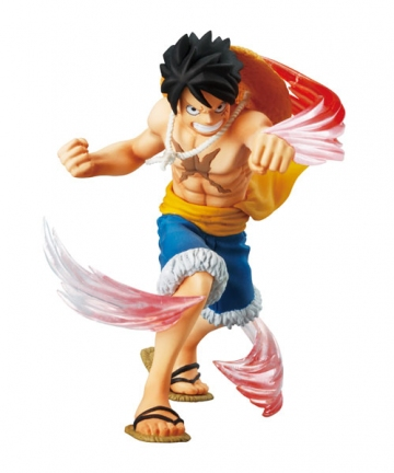 main photo of One Piece Attack Motions Vol. 9 Punk Hazard: Monkey D Luffy