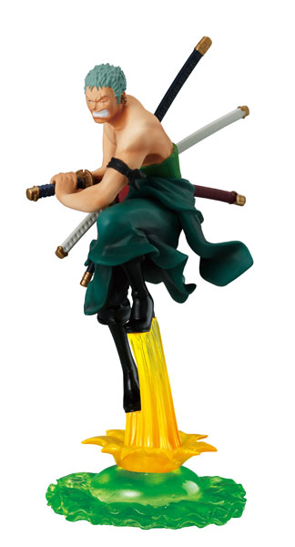 main photo of One Piece Attack Motions Vol. 9 Punk Hazard: Roronoa Zoro