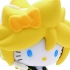 Mascot Key Chain Hello Kitty & Vocaloid: Hello Kitty Kagamine Len Ver.