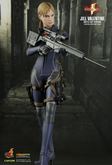 main photo of Video Game Masterpiece Jill Valentine Battle Suit Ver.