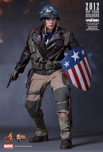 main photo of Movie Masterpiece Captain America Rescue Uniform Version
