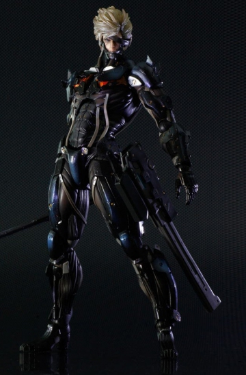 main photo of Play Arts Kai Raiden Black Armour Ver.
