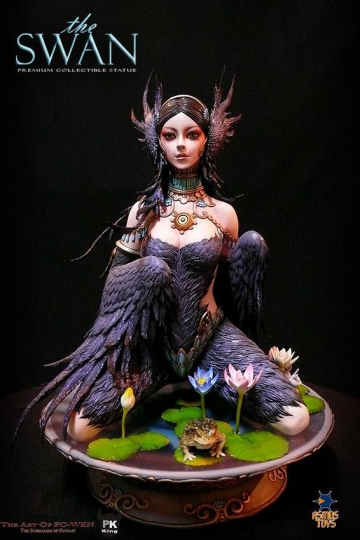 main photo of Premium Collectible Statue The Swan Black Ver.