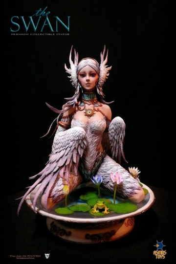 main photo of Premium Collectible Statue The Swan White Ver.