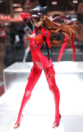 main photo of PM Figure Shikinami Asuka Langley Plugsuit 02 Cap and Jersey Ver.