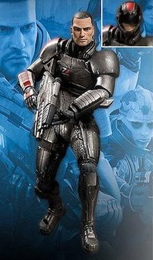 main photo of Mass Effect 2 Action Figures Series 1 Commander Shepard
