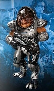 main photo of Mass Effect 2 Action Figures Series 1 Grunt