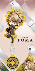 main photo of Amnesia Yura-Yura Clip Collection: Toma Chibi Ver.