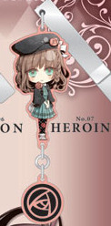 main photo of Amnesia Yura-Yura Clip Collection: Heroine Chibi Ver.