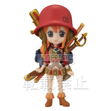main photo of One Piece World Collectable Figure ~One Piece Film Z~ vol.3: Nami