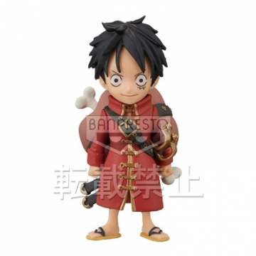 main photo of One Piece World Collectable Figure ~One Piece Film Z~ vol.3: Monkey D Luffy