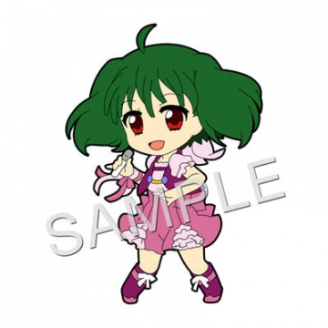 main photo of Pic-Lil! Macross 30th Anniversary Trading Strap 2nd: Ranka Lee Macross FB7 Ver.