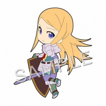 main photo of Pic-Lil! Etrian Odyssey Series Trading Strap: Paladin