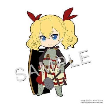 main photo of Pic-Lil! Etrian Odyssey Series Trading Strap: Fortress Exclusive Ver.