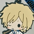 es Series Rubber Strap Collection Durarara!!: Heiwajima Shizuo Fuyugeshiki Ver.