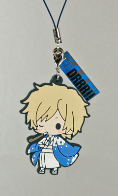 main photo of -es series nino- Durarara!! Rubber Strap Collection: Heiwajima Shizuo Fuyugeshiki Ver.
