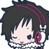 es Series Rubber Strap Collection Durarara!!: Orihara Izaya Psychedelic Ver.