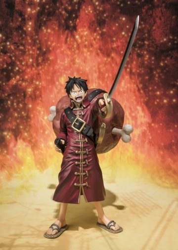 main photo of Figuarts ZERO Monkey D. Luffy Battle Clothes Ver. Film Z
