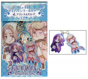 main photo of Hetalia Axis Powers Keyholder: France & Russia Halloween